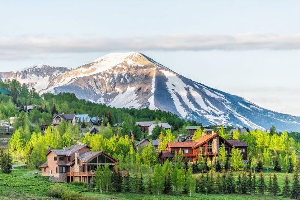 Beautiful Town In Colorado
